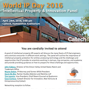 World IP Day 2016