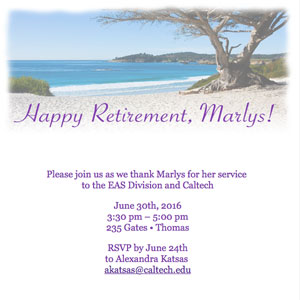 Marlys Murray Retirement Party Invitation
