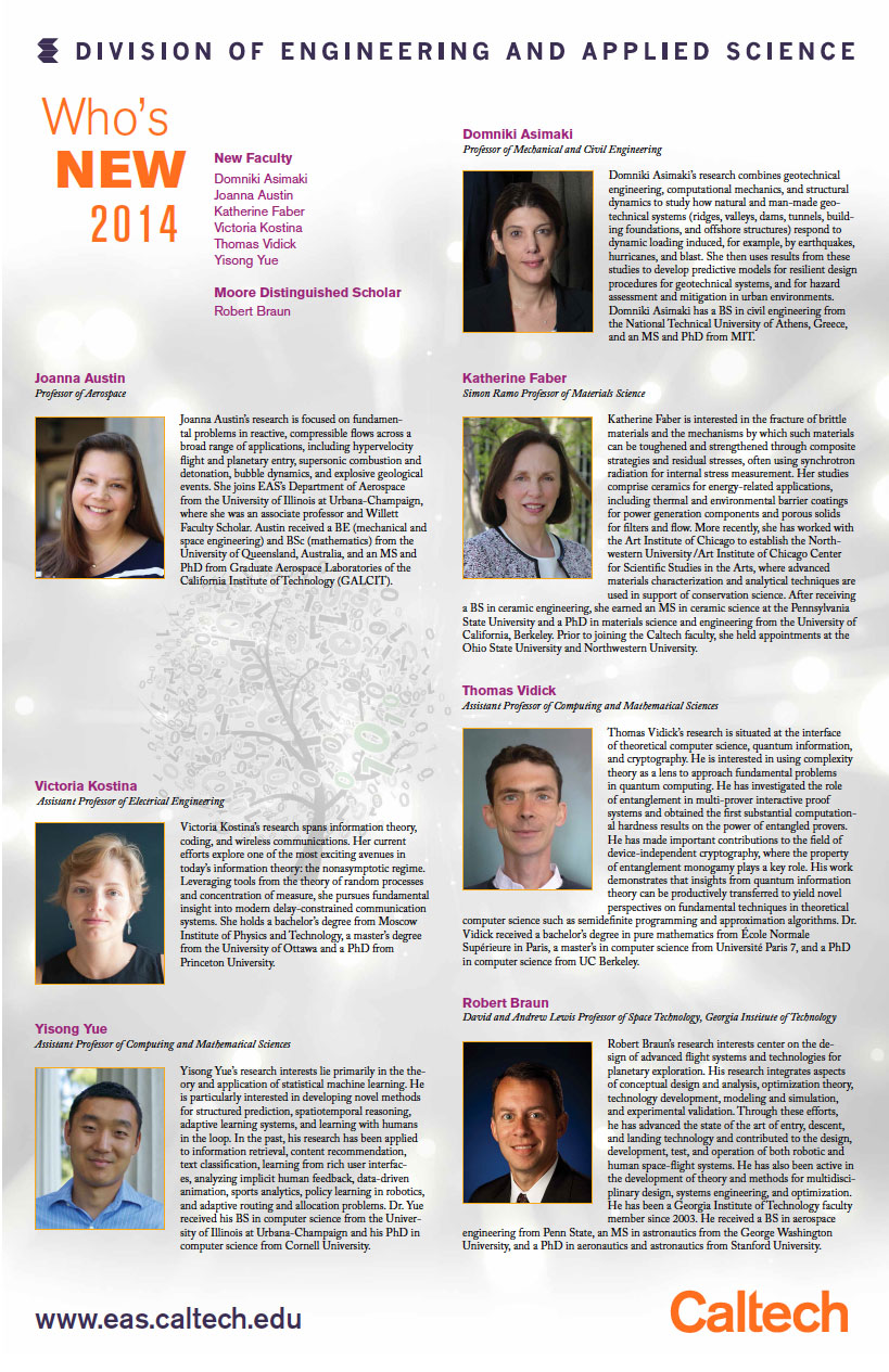 New Faculty Flyer