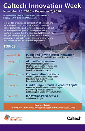 Caltech Innovation Week