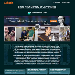 Share Your Memory of Carver Mead