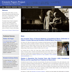 The Einstein Papers Project